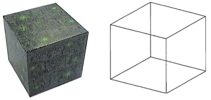 bekende kubieke steen, met zijn twaalf gelijke ribben, en de hoeksteen vormt voor de opbouw van de Tempel, in overeenkomst met de twaalf halve tonen.